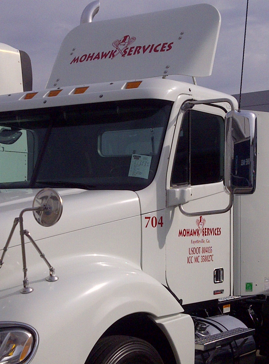 Mohawk services trucking throughout the southeast Southeastern motor freight